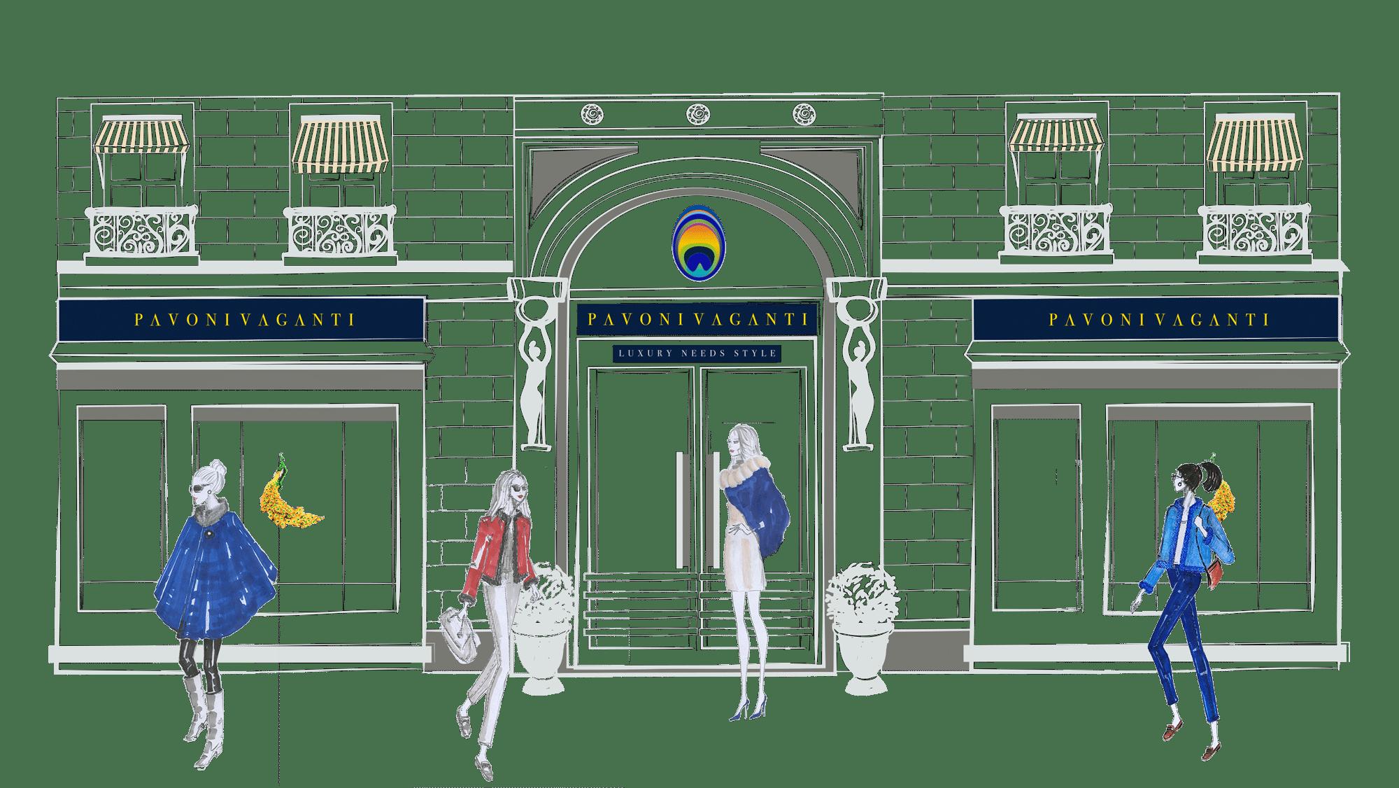 collection front store pavoni vaganti 6