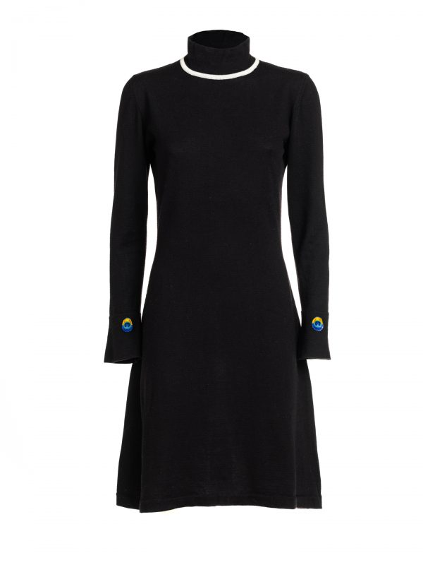 abito black wool 1