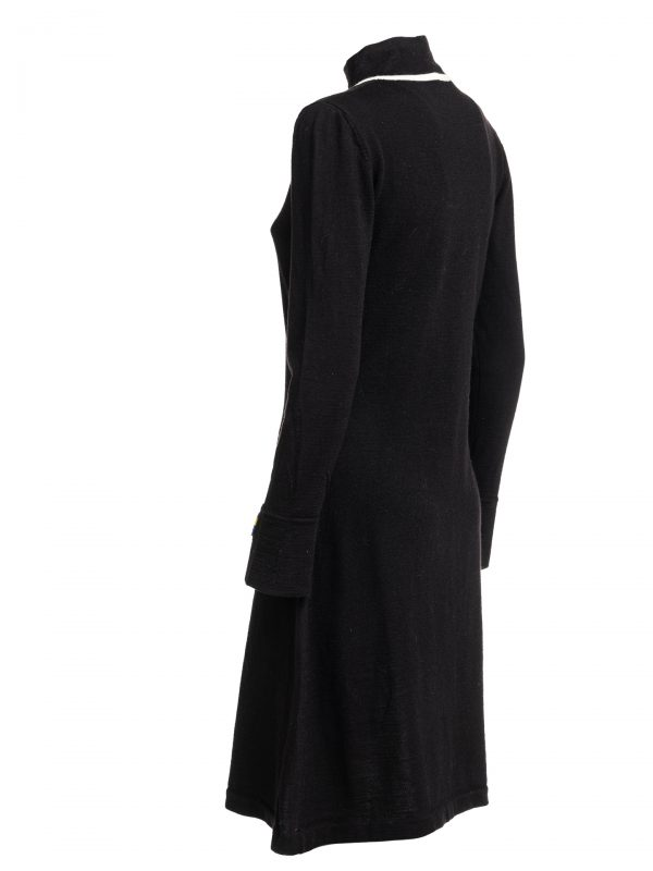 abito black wool 2