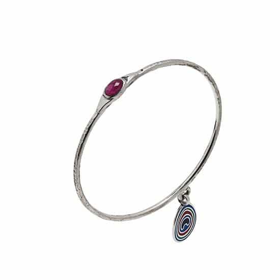 peacock bracelet ruby 50 menu