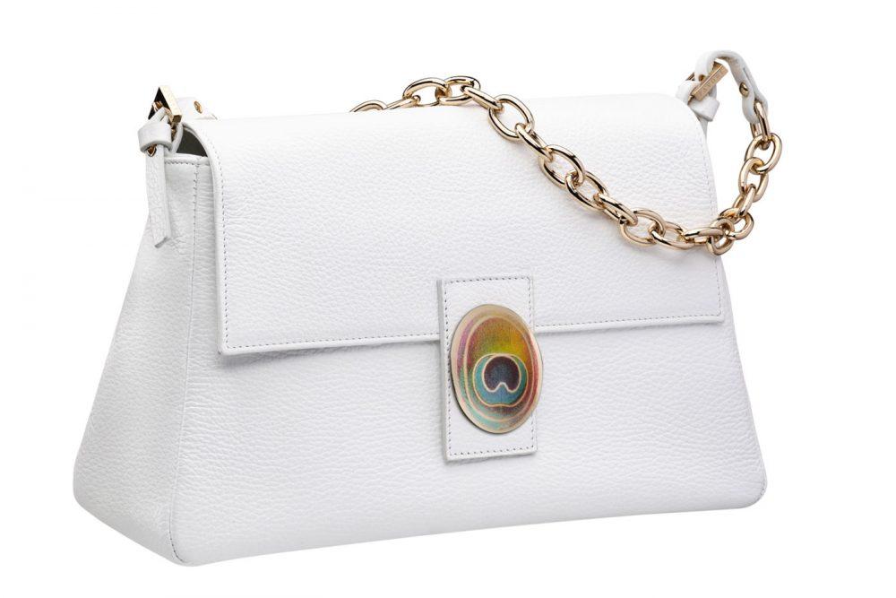 pavoni vaganti babette bag off white 1